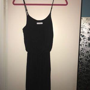 Nordstrom Lush black maxi dress